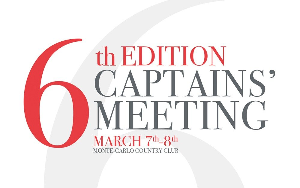 6th EDITION CAPTAINS' MEETING 2019